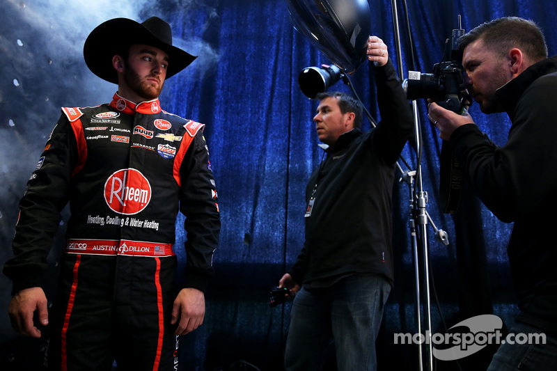 Austin Dillon, Richard Childress Racing, Chevrolet, mit den Getty Images Fotografen Brian Lawdermilk und Jared C. Tilton