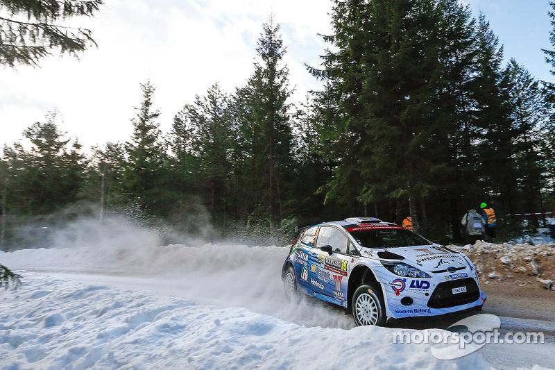 Pontus Tidemand und Emil Axelsson, Ford Fiesta R5