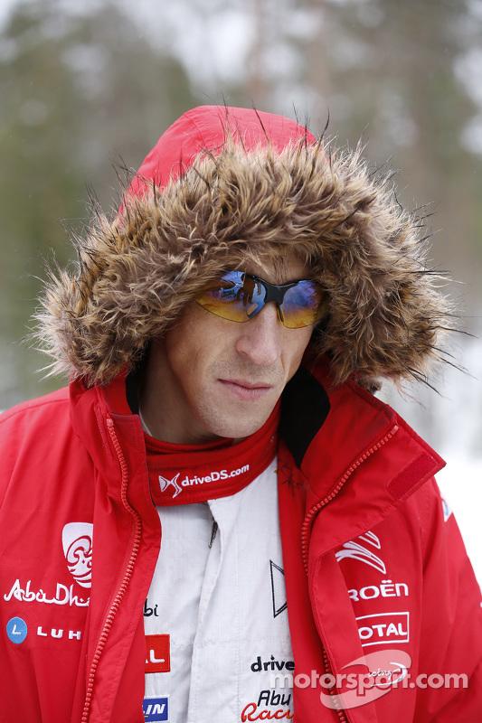 كريس ميك، فريق سيتروين توتال أبوظبي العالمي للراليات