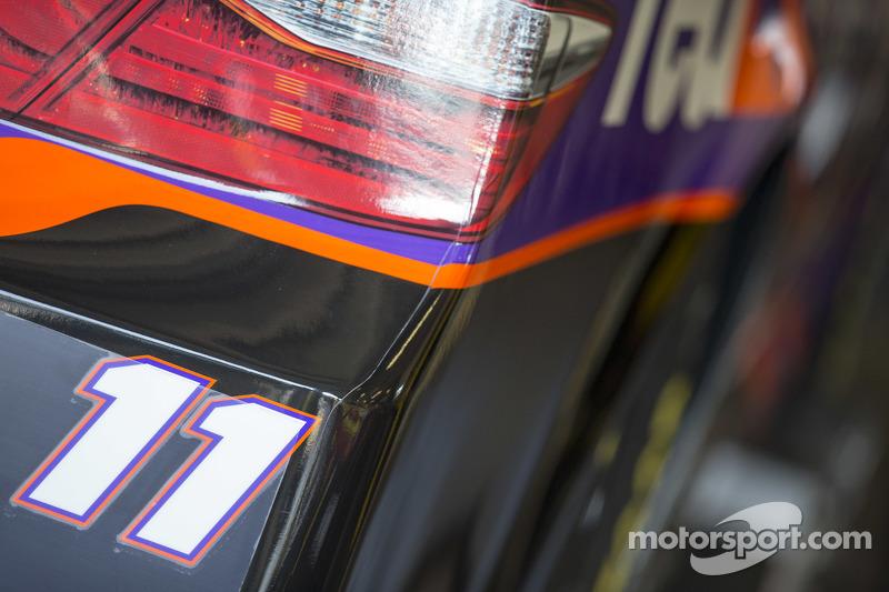 Denny Hamlin, Joe Gibbs Racing, Toyota, Detail