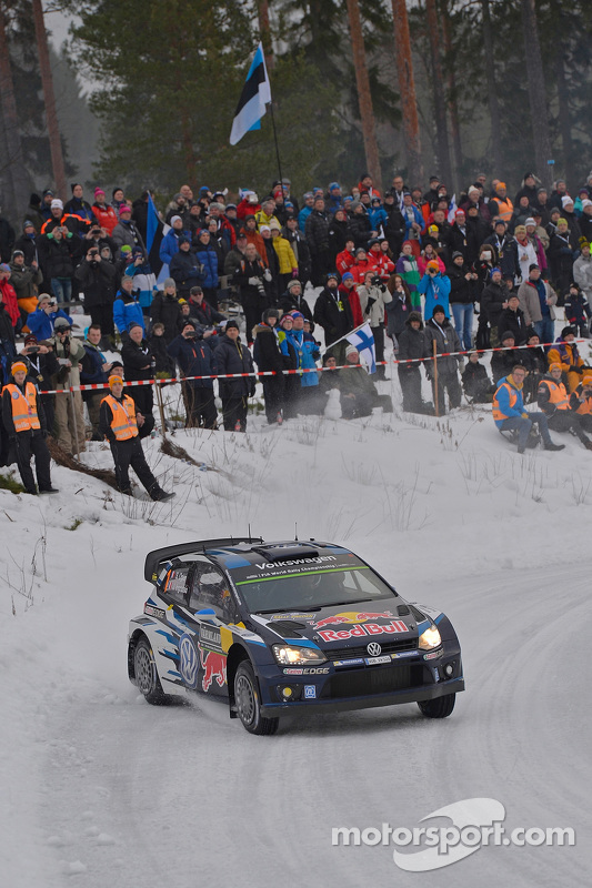 Sebastien Ogier e Julien Ingrassia, Volkswagen Polo WRC, Volkswagen Motorsport