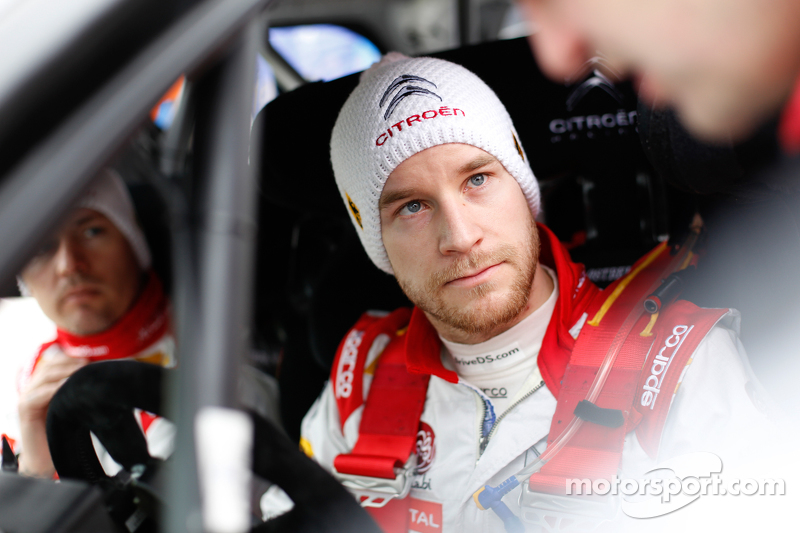 Mads Ostberg und Jonas Andersson, Citroën DS3 WRC, Citroën Total Abu Dhabi World Rally Team