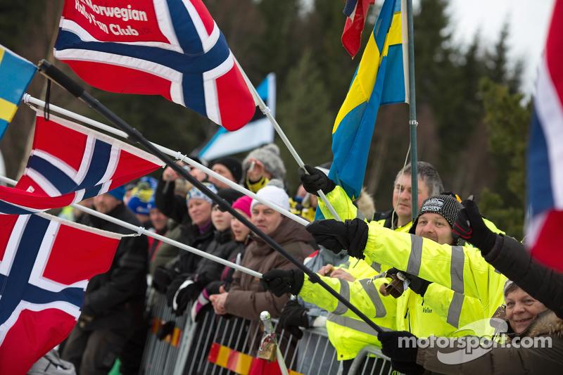 Rally Scweden, Fans
