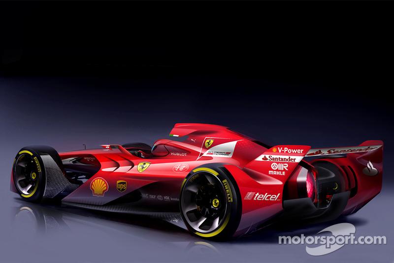 Designstudie Ferrari