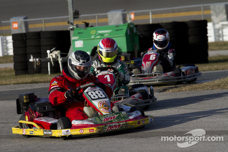 #88 Wheel to Wheel Karting: Bill Judy, Bruce White, Kevin Jordan, Jack Vintartas, Ryan Glisсин