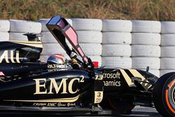 帕斯托·马尔多纳多, 路特斯 F1 E23,停在赛道上