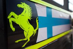 Pit board for Kimi Raikkonen, Ferrari