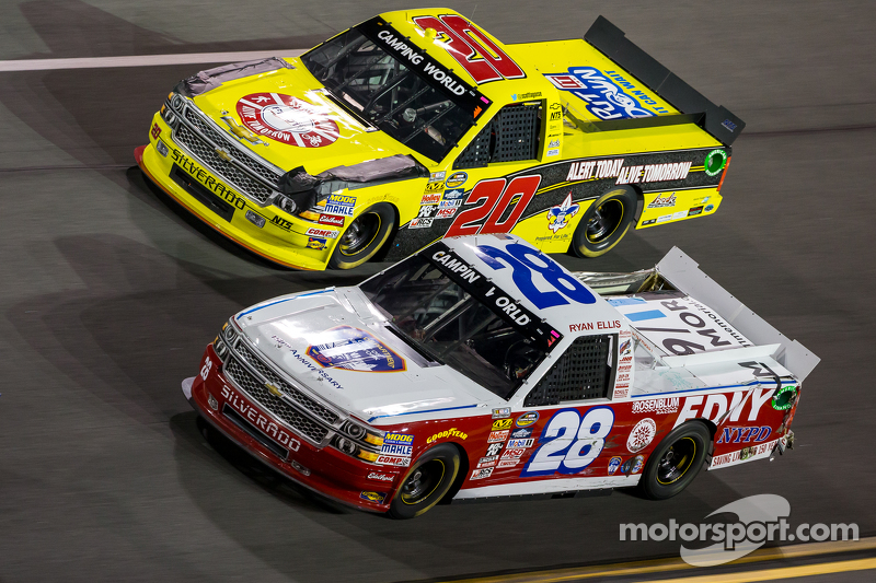 Ryan Ellis, FDNY Racing, Chevrolet, und Scott Laggase jr., NTS Motorsports, Chevrolet