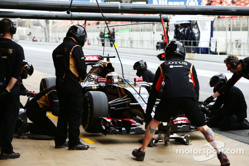 帕斯托·马尔多纳多, 路特斯 F1 E23,进站练习