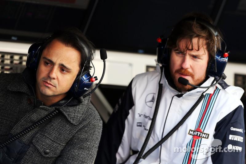 Felipe Massa, Williams et Rob Smedley, Williams