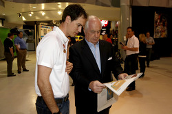 Joey Logano, Team Penske Ford with Roger Penske
