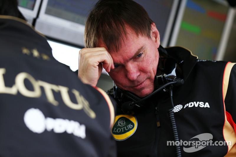 Alan Permane, Direttore  delle operazioni in pista di Lotus F1 Team