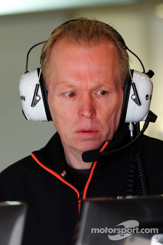 Andrew Green, Diretor Técnico da Sahara Force India F1 Team