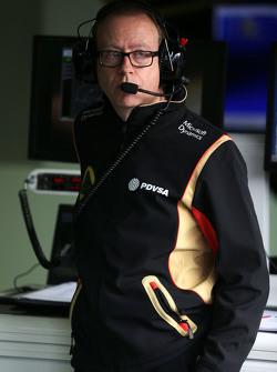 مارك سليد، مهندس سباق فريق لوتس اف1