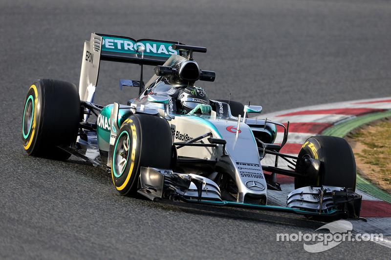 Ніко Росберг (GER), Mercedes AMG F1 Team