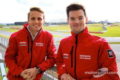 Max Chilton e Alex Buncombe integram Nissan WEC