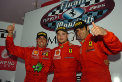 Challenge Europa Trofeo Pirelli, race 1 podium