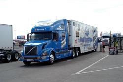Todd Kleuver's transporter arrives