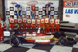 Newman-Haas crew awaits winner Sébastien Bourdais