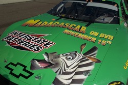 #18 Interstate Batteries Chevy with a Madagascar theme