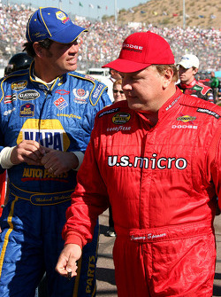 Michael Waltrip and Jimmy Spencer