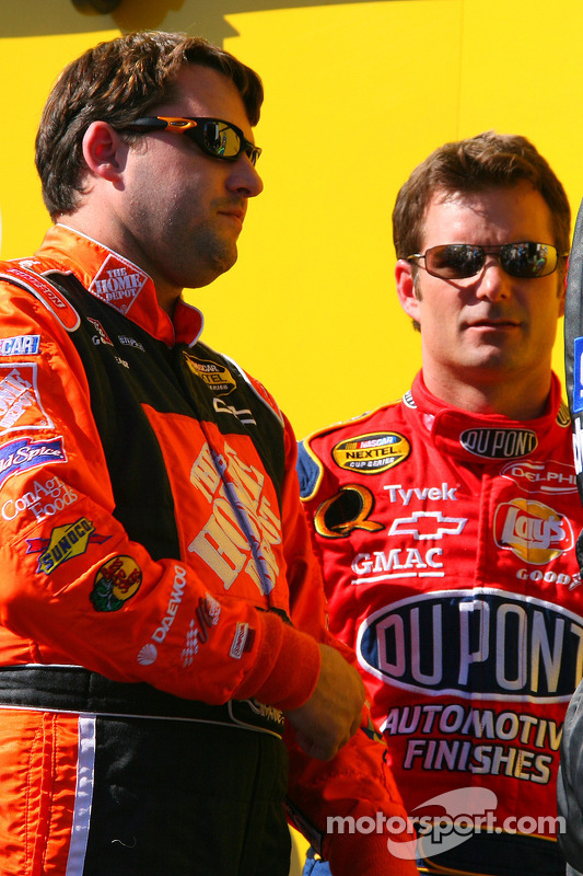 Tony Stewart et Jeff Gordon
