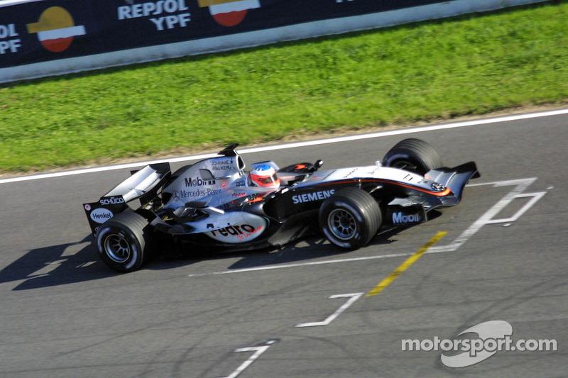 Гэри Паффет, McLaren, 2005 год