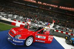 Demo run for World Rally champions Sébastien Loeb and Daniel Elena
