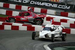 Quarter final: Sébastien Bourdais and Jean Alesi
