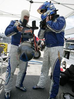 Chris Bingham and Hugo Guénette