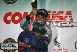 DP podium: champagne for Wayne Taylor and Christian Fittipaldi