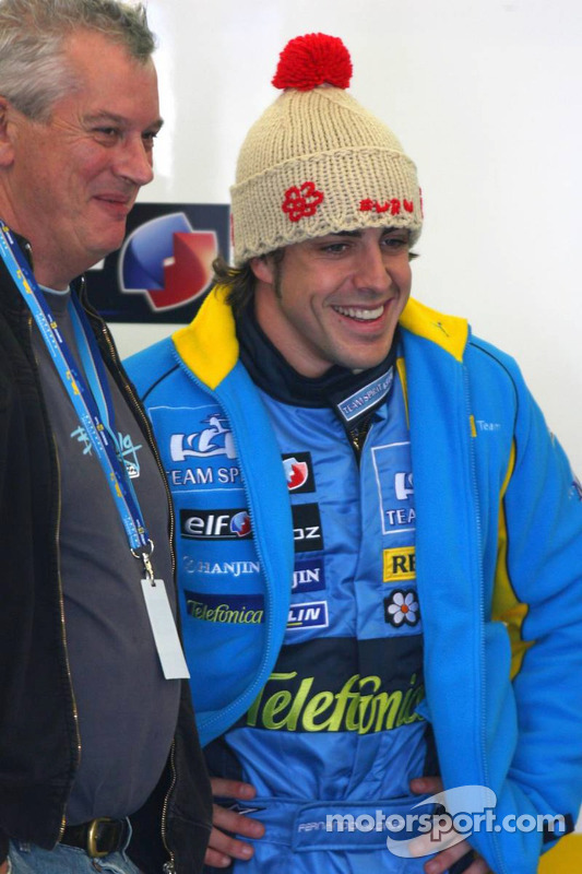 Pat Symonds and Fernando Alonso