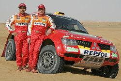 Repsol Mitsubishi Ralliart : Hiroshi Masuoka et Pascal Maimon