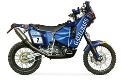 The Gauloises KTM of Cyril Despres