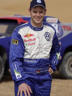 Volkswagen Motorsport: Dirk von Zitzewitz, co-driver for Mark Miller