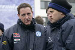Volkswagen Motorsport departure in Wolfsburg: Mark Miller and Dirk von Zitzewitz