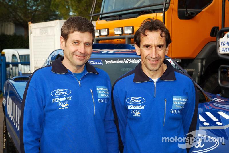 Team Gauloises Schlesser: Arnaud Debron et Thierry Magnaldi