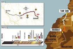 Stage 6: 2006-01-05, Tan Tan to Zouérat