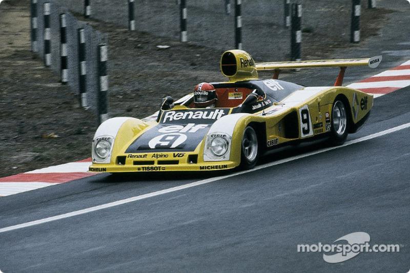 #9 Renault Sport Renault Alpine A442: Jean-Pierre Jabouille, Derek Bell