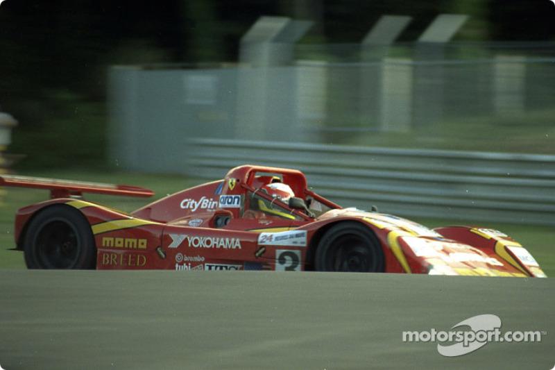 #3 Moretti Racing Ferrari 333 SP: Didier Theys, Gianpiero Moretti, Max Papis