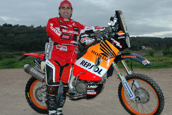 Team Repsol Honda: Paulo Goncalves