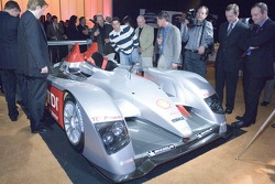 The Audi R10 was one of the attractions of the Audi Designers' Tuesday