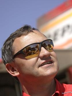 Team Repsol Mitsubishi Ralliart director Dominique Serieys