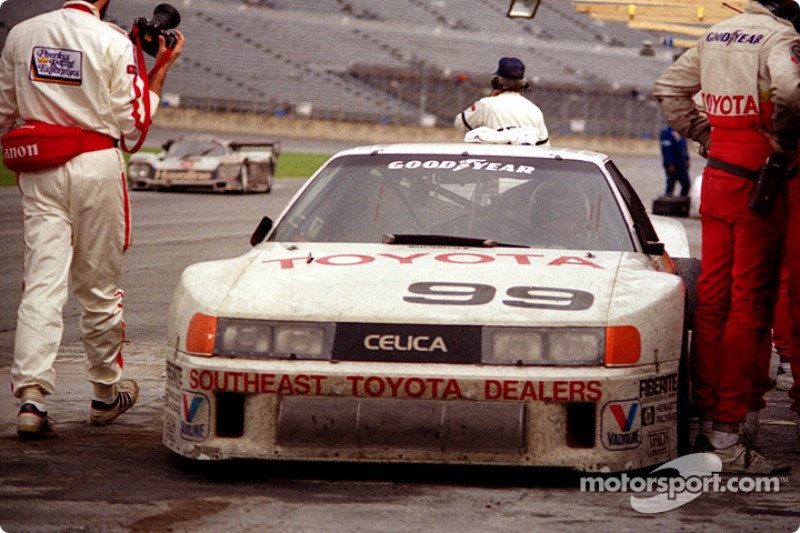 #99 All American Racers Celica Turbo: Willy T. Ribbs, Juan-Manuel Fangio II, Rocky Moran