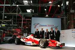 Toyota Motorsport Technical Management with the TF106