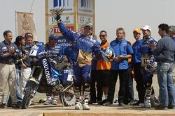 Bike category podium: Cyril Despres