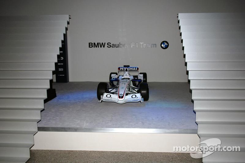 Презентація боліда BMW Sauber F1.06