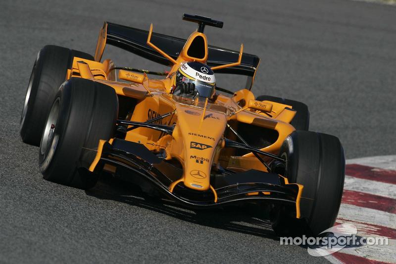 McLaren MP4-21 (essais hivernaux 2006)
