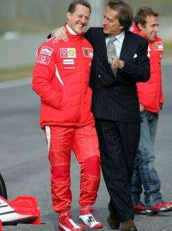 Michael Schumacher y Luca di Montezemelo