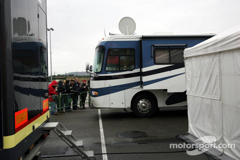 Motorhome of Valentino Rossi